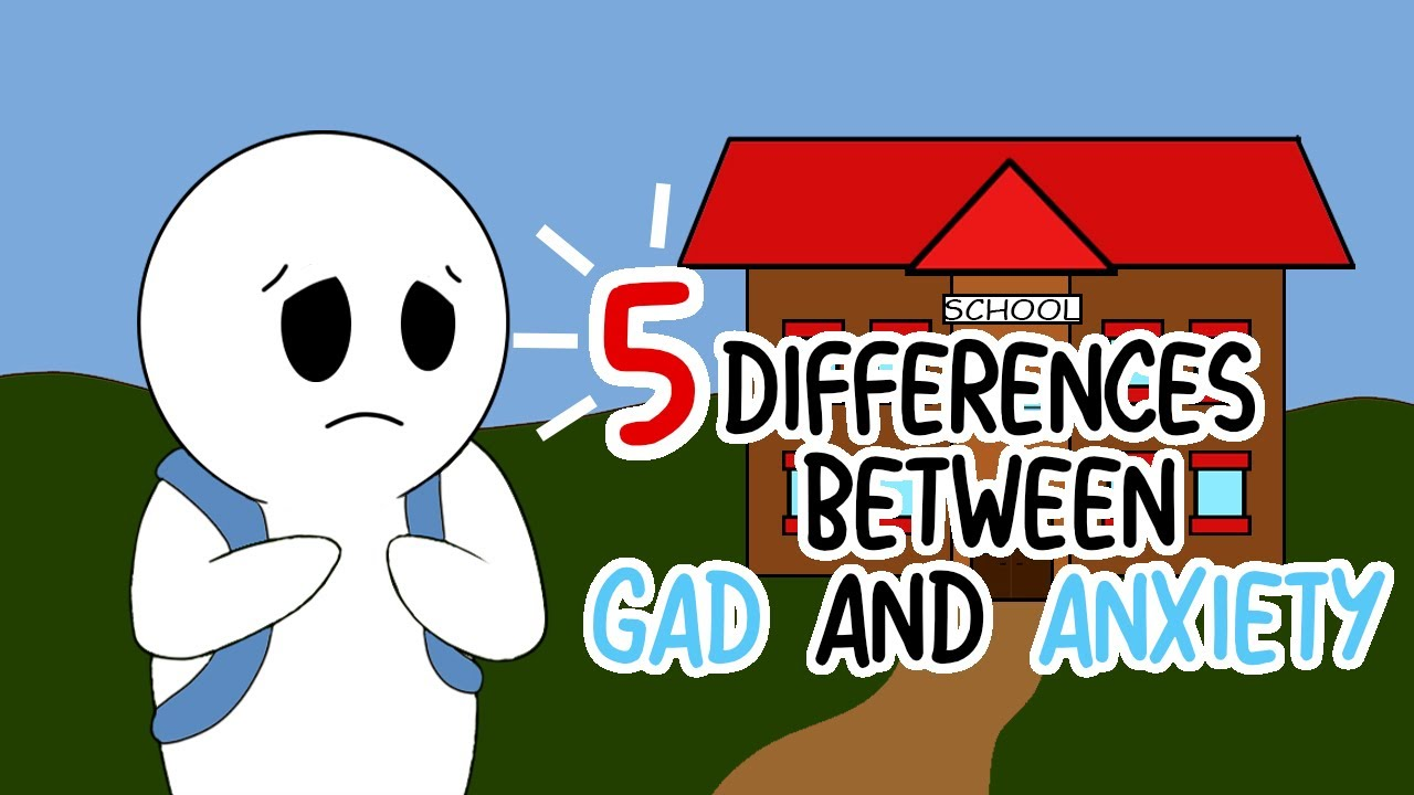 5 Differences Between GAD and Anxiety
